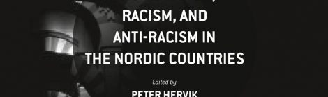 New book published: Nordic researchers on Racism, Racialization and Anti-racism