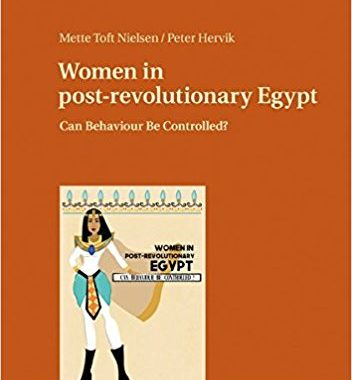 """New book available! """"Can Behaviour Be Controlled? Women in Post-Revolutionary Egypt"""""""